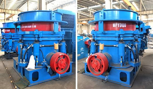 multi-cylinder hysraulic cone crusher