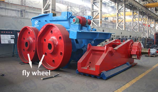 flywheel jaw crusher