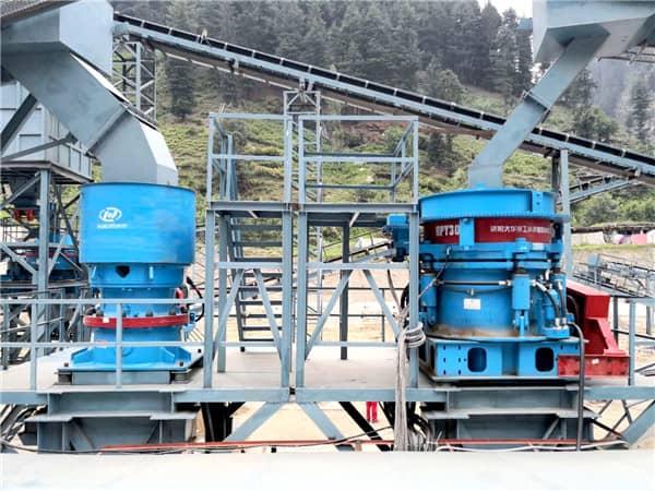 stone production line crusher machine