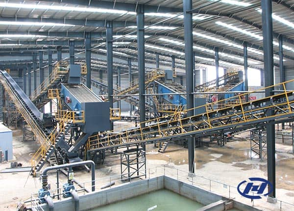 cobble jaw crusher line