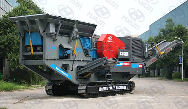 mobile crusher used field