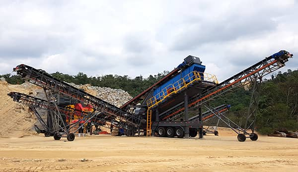stone mobile crusher for sale