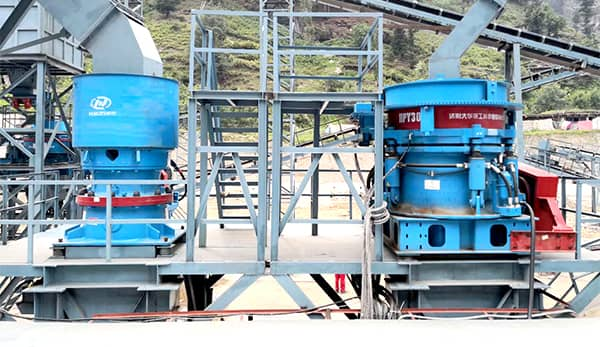 waste water treatment for stone production line