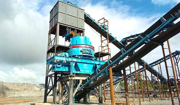 sand making machine maintenance