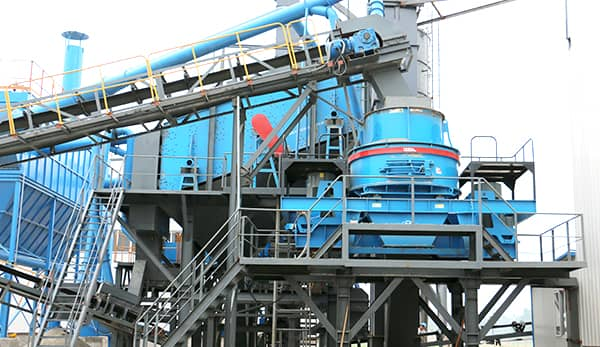 sand making machine production line