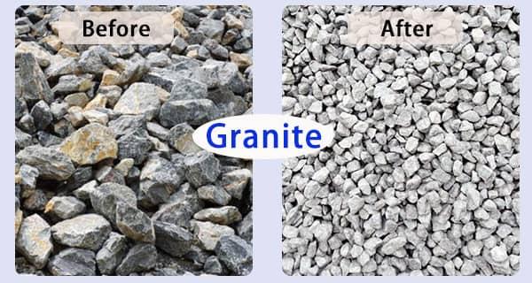 granite production