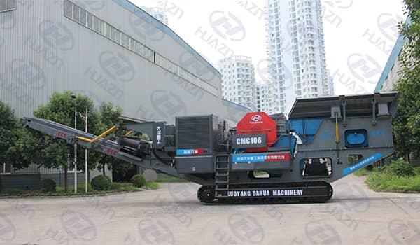 granite mobile crusher