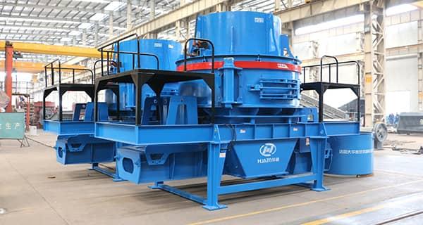 granite crusher vertical shaft sand making machine