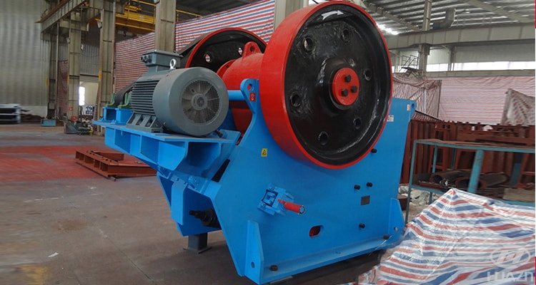 JC jaw crusher large crushing efficiency