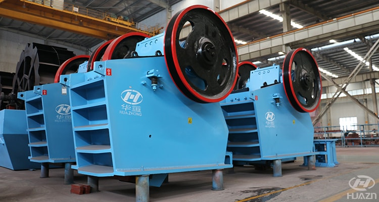 C jaw crusher adjustable feeding size