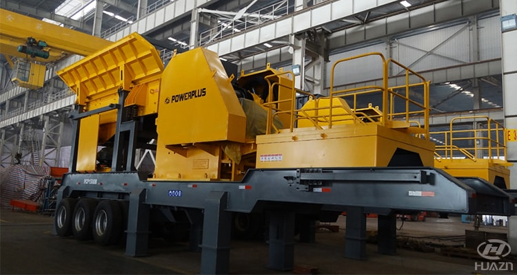 mobile jaw crusher plant flexible move