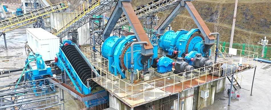 570 t/h limestone crushing and grinding production line