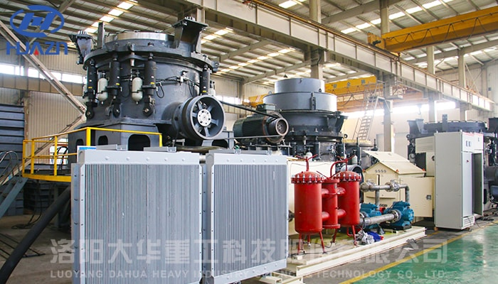 cone crusher tested successfully