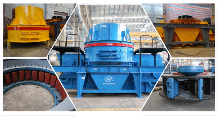 sand making machine spare parts