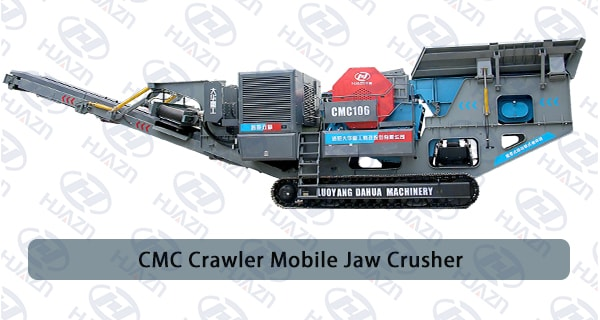 crawler mobile jaw crusher