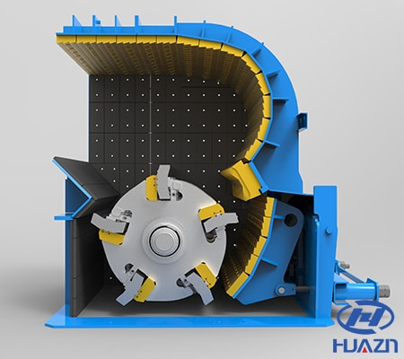 impact crusher structure