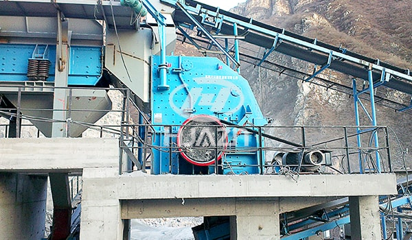 impact crusher stone machine