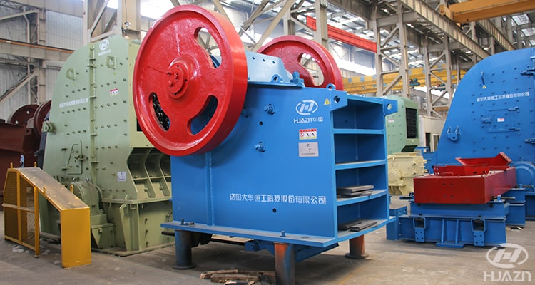 small jaw crusher factory site