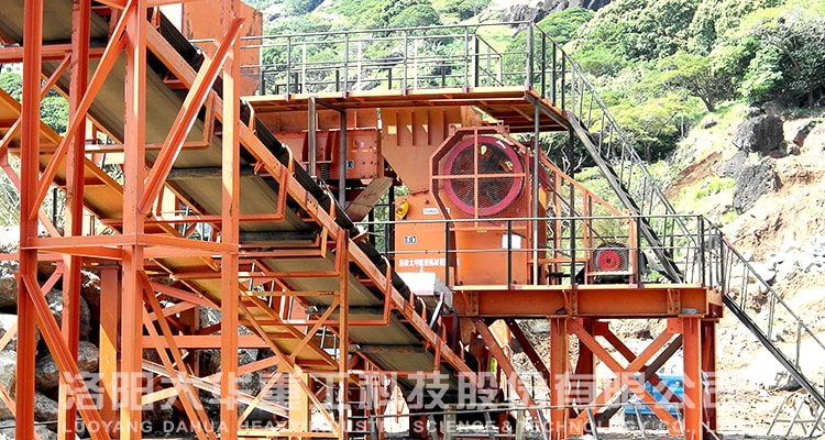 pe samll jaw crusher application