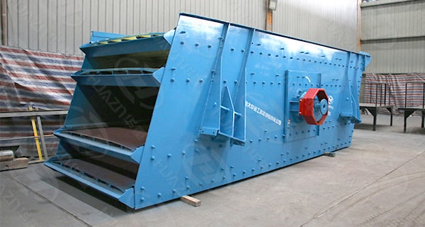 stable operation vibrating screen