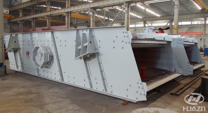 stable vibrating screen for sand