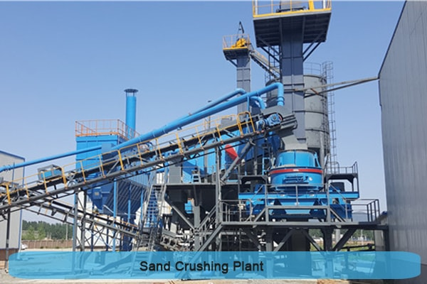 sand making production line mode