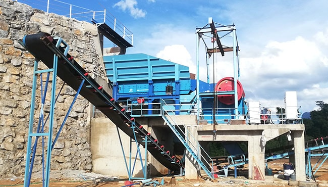 small stone crusher production line
