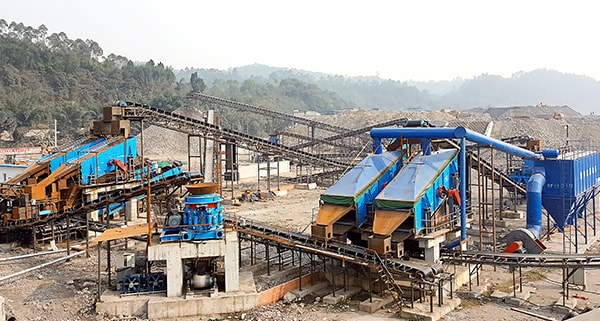 small stone crushing production line