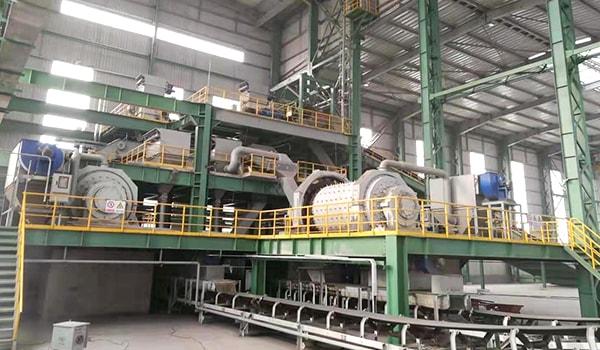 steel slag crusher plant