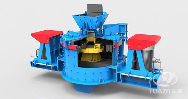 vertical shaft sand making machine
