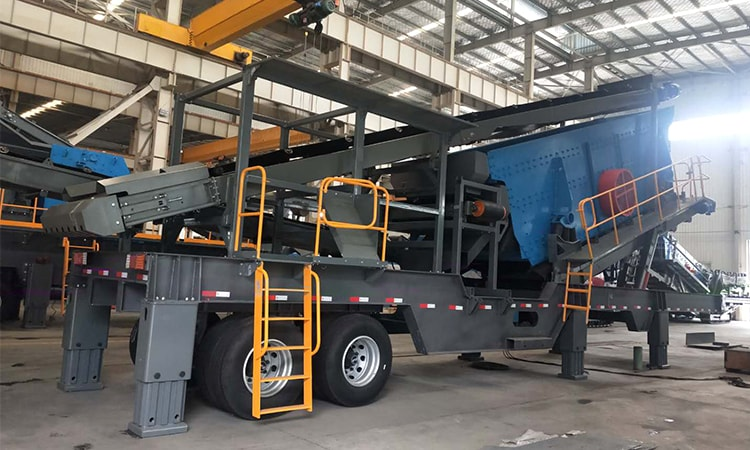 mobile crusher machine with screen
