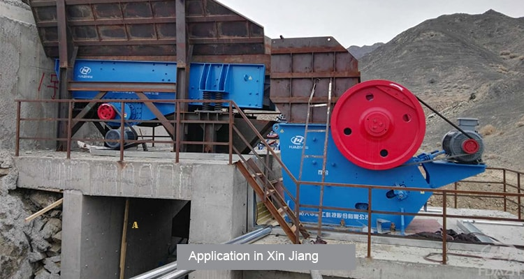 JC stone jaw crusher machine