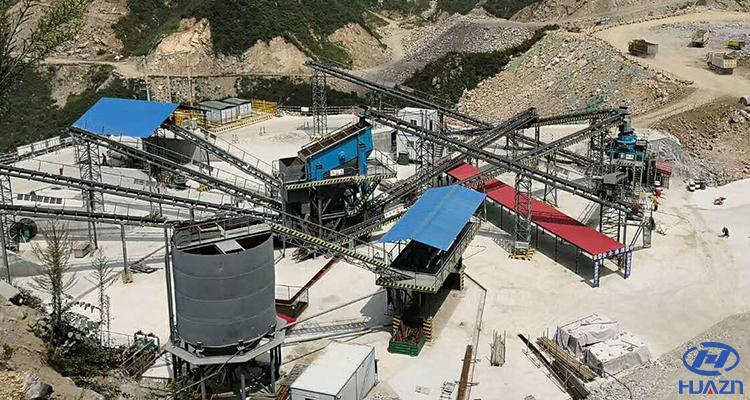 stone crushing production line