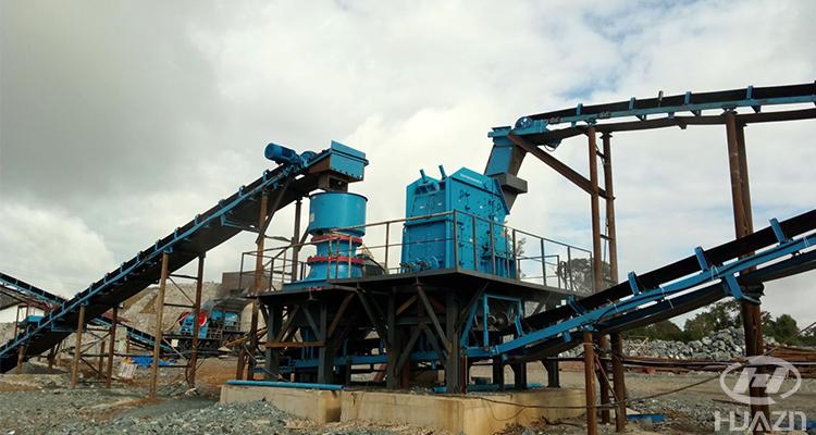 isp impact crusher machine