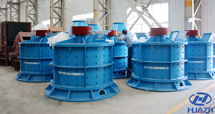 vertical compound sand making machine
