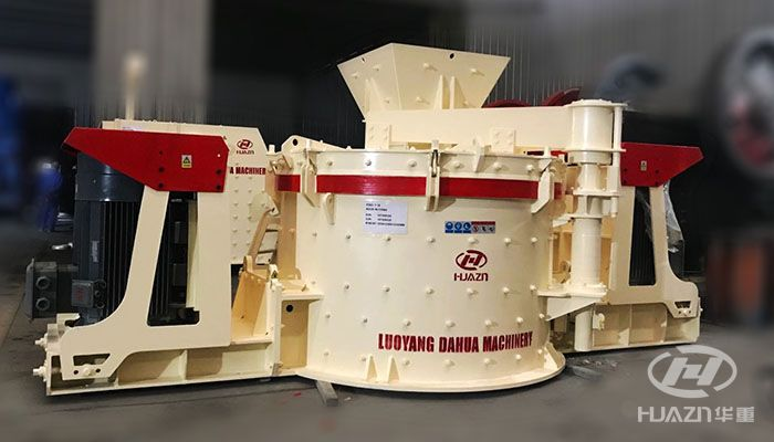 PLK sand making machine, sand making and shaping simultaneously
