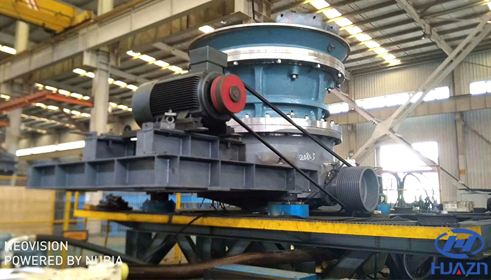 high capacity hydraulic cone crusher