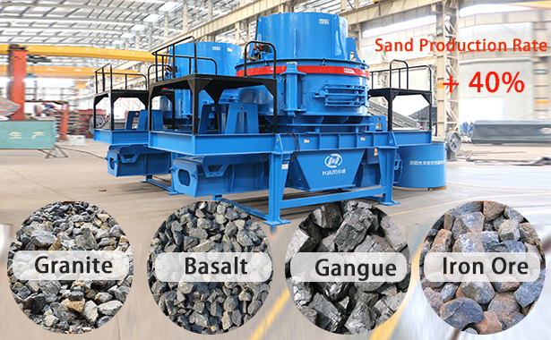 sand making machine features