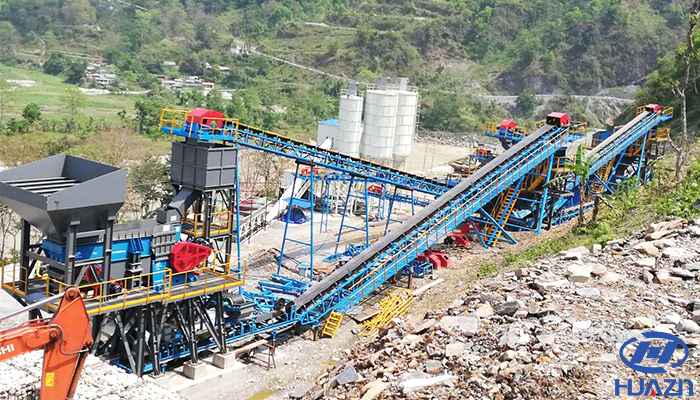 crusher production line