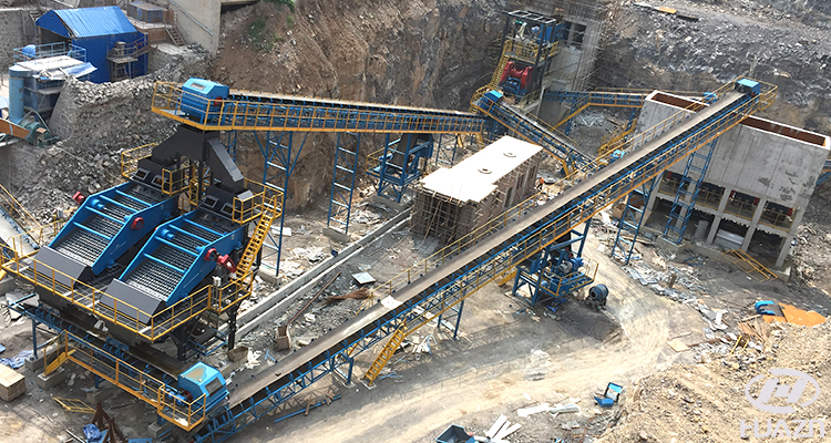 stone crusher features