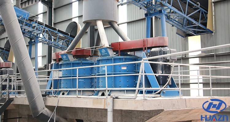 high sand production compound crusher