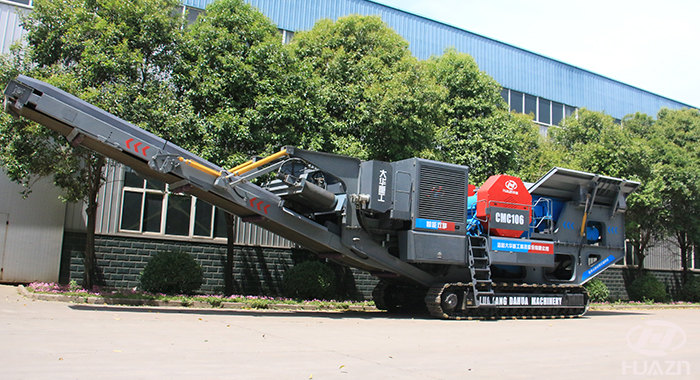 crawler jaw crusher machine