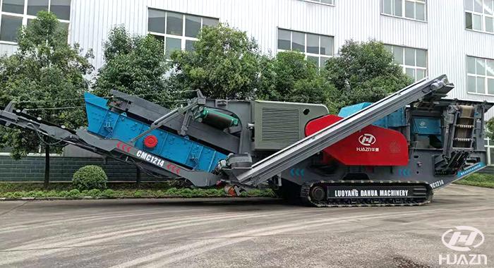 crawler mobile impact crusher