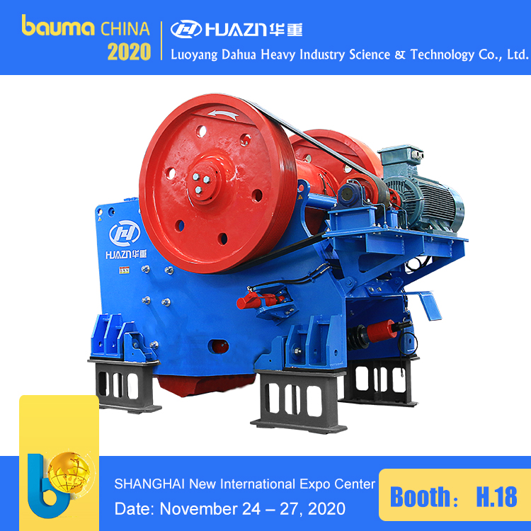 large scale jaw crusher
