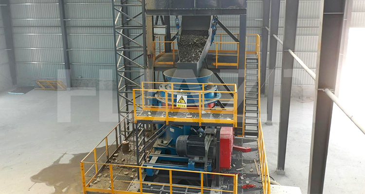 175 t/h cone crusher stone production line