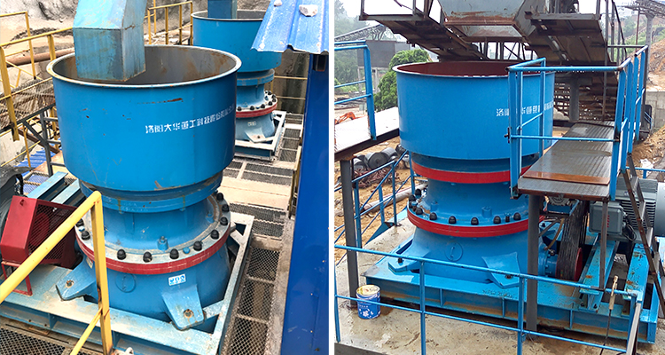 cone crusher for ore application