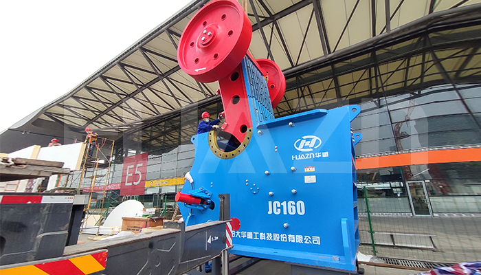 large capacity jaw crusher