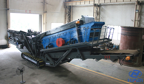 mobile screening plant for stone
