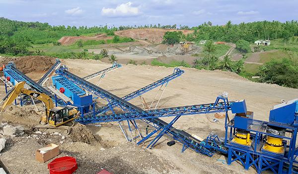 stone production crushing equipment selection