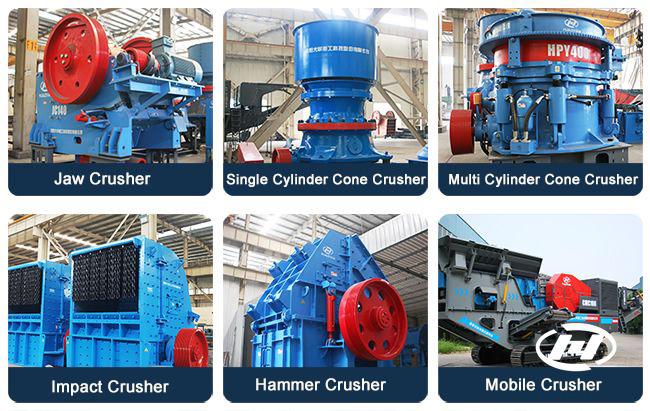 mechanical sand crushing equipment